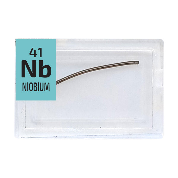 Niobium Wire Periodic Element Tile - Small - The Periodic Element Guys