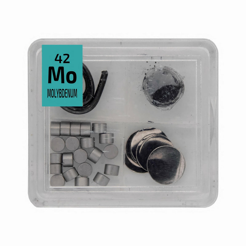 Molybdenum Metal Wire Powder Pellets Foil Quad Element Tile Pure - Periodic Table - The Periodic Element Guys