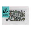 Molybdenum Disks Periodic Element Tile - Small - The Periodic Element Guys