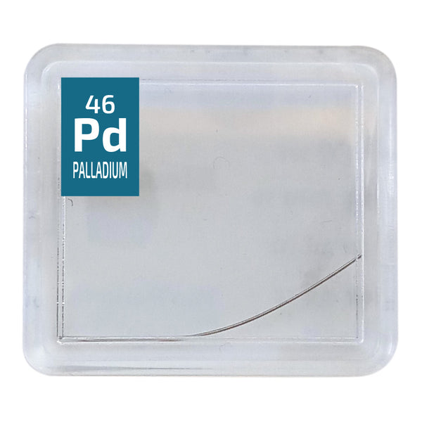 Palladium Wire Periodic Element Tile - The Periodic Element Guys