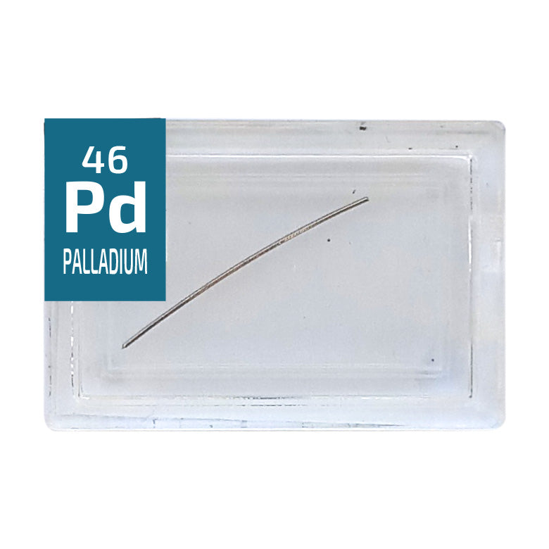 Palladium Wire Periodic Element Tile - Small - The Periodic Element Guys