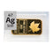Silver Maple Ingot (Gold Plated) Periodic Element Tile - The Periodic Element Guys