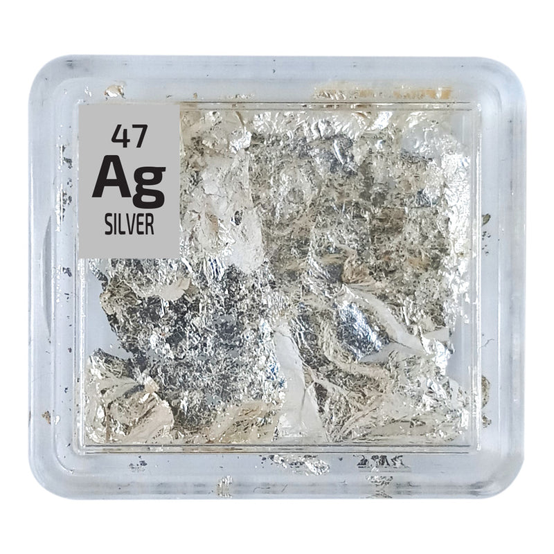 Silver Foil Periodic Element Tile - The Periodic Element Guys