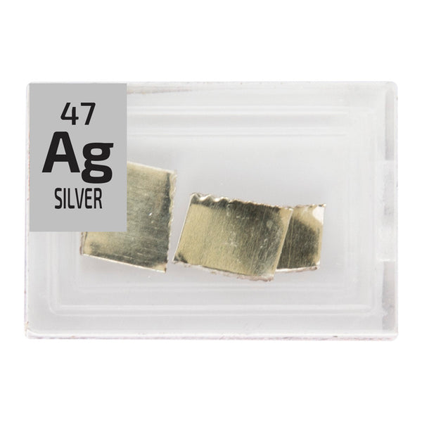 Silver Pieces Periodic Element Tile - Small - The Periodic Element Guys
