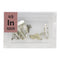 Indium Pieces Periodic Element Tile - Small - The Periodic Element Guys