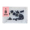 Boron Crystalline Periodic Element Tile - Small - The Periodic Element Guys