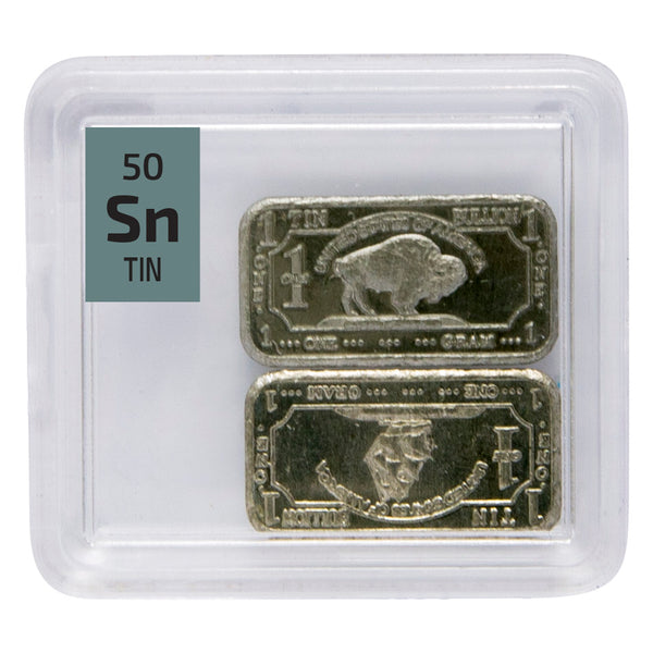 99.9% Pure Tin Ingots - The Periodic Element Guys