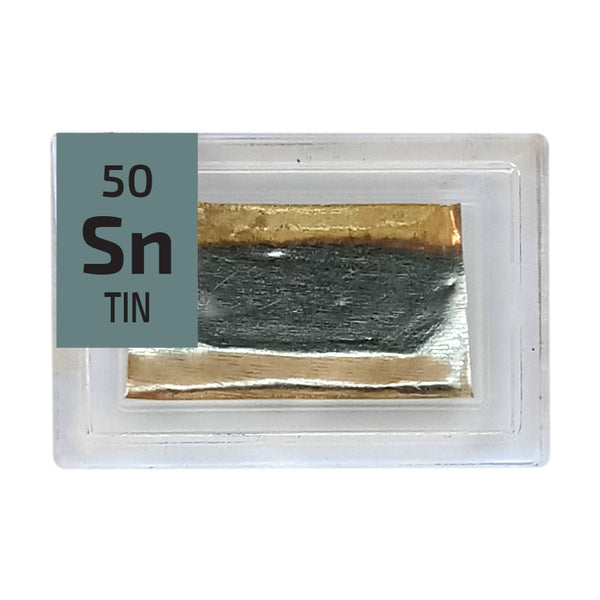 Tin Foil Periodic Element Tile - Small - The Periodic Element Guys