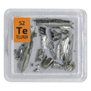 Tellurium Pieces Periodic Element Tile - The Periodic Element Guys