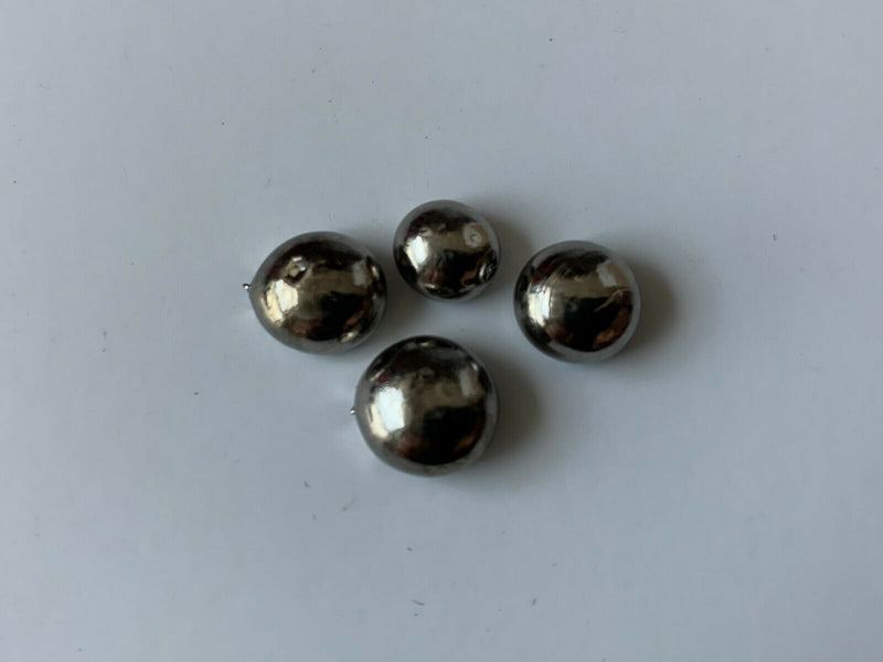 Hafnium Metal solid Arc Melted Beads. 10 Grams + 99.95% Pellets 3 - 4 Pieces - The Periodic Element Guys