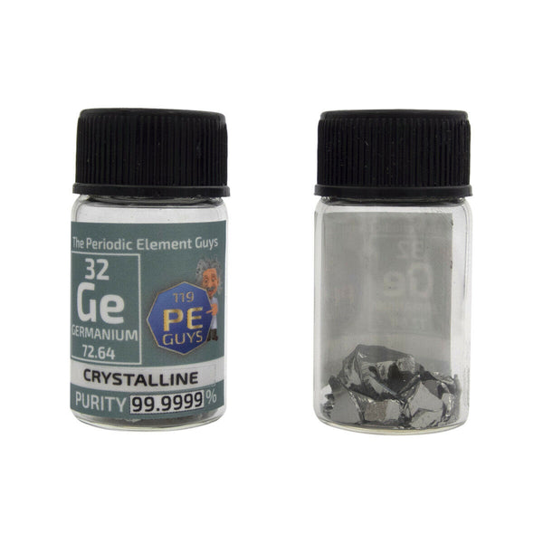 Germanium Metal Element Sample - 3g Crystal Chunks - Purity: 99.9999% - The Periodic Element Guys