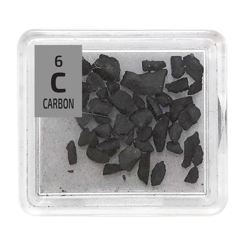 Carbon Charcoal Periodic Element Tile - The Periodic Element Guys