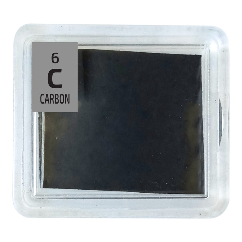Carbon Foil Periodic Element Tile - The Periodic Element Guys