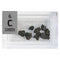 Carbon Natural Charcoal Periodic Element Tile - Small - The Periodic Element Guys