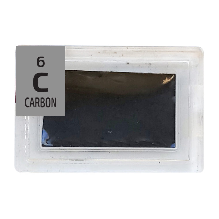 Carbon Foil Periodic Element Tile - Small - The Periodic Element Guys