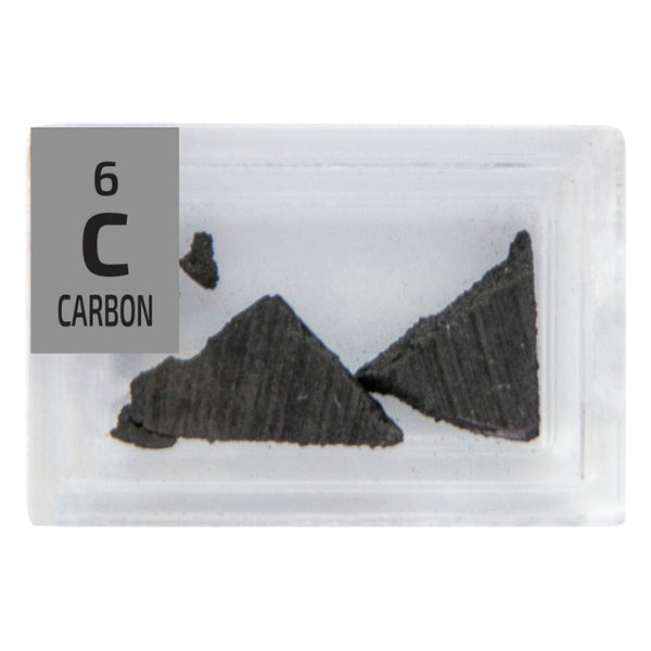 Carbon Pieces Periodic Element Tile - Small - The Periodic Element Guys