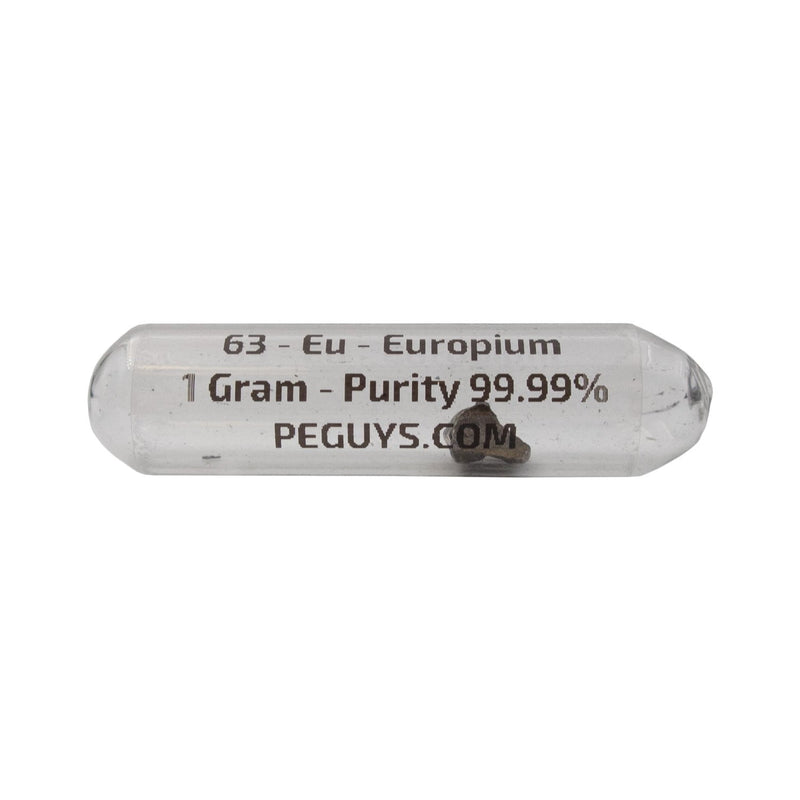 99.99% Pure 1 Gram Rare Earth Europium Metal - The Periodic Element Guys