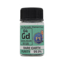 Gadolinium Rare Earth Element Sample - 2g Turnings - Purity: 99.99% - The Periodic Element Guys