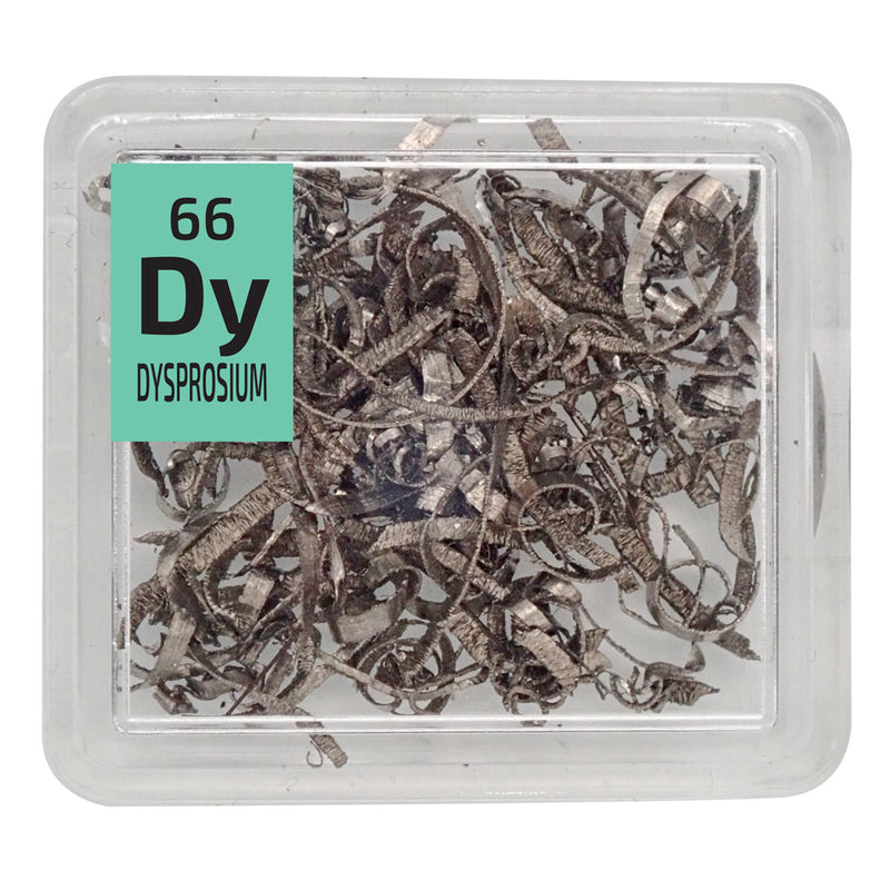 Dysprosium Turnings Periodic Element Tile - The Periodic Element Guys