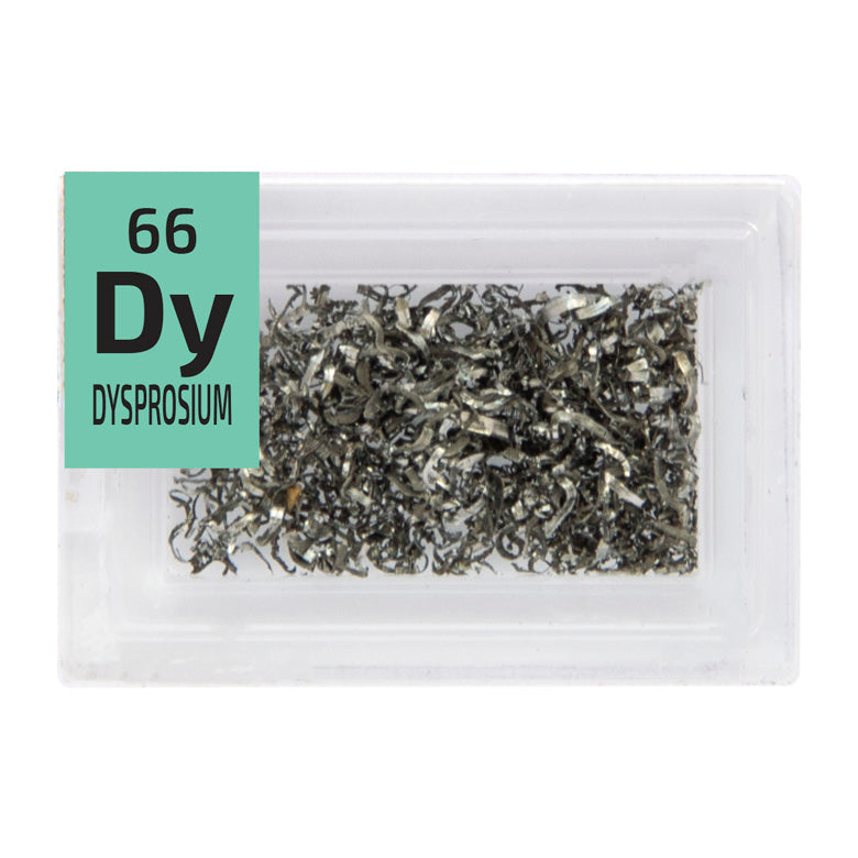Dysprosium Turnings Periodic Element Tile - Small - The Periodic Element Guys
