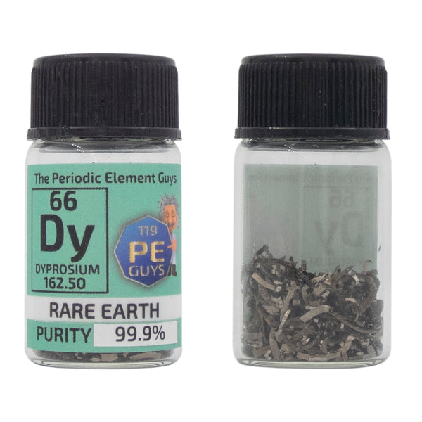 Dysprosium Rare Earth Element Sample - Purity: 99.99% - The Periodic Element Guys