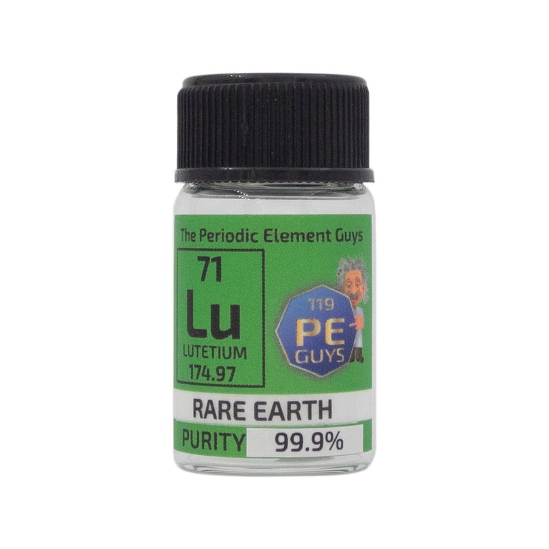 Lutetium Metal Element Sample - 1g Pieces - Purity: 99.99% - The Periodic Element Guys