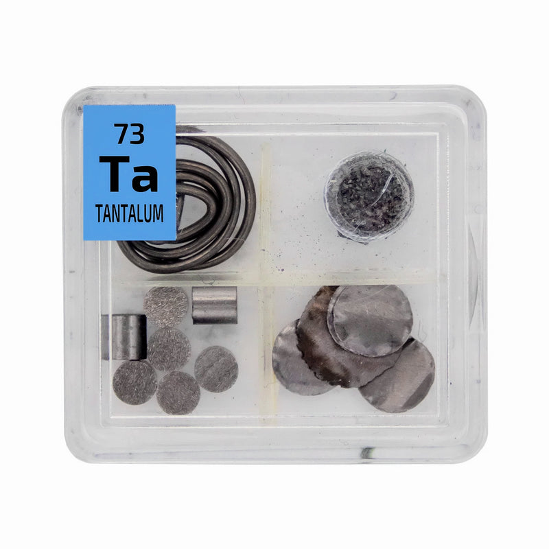Tantalum Metal Wire Powder Pellets Foil Quad Element Tile Pure - Periodic Table - The Periodic Element Guys