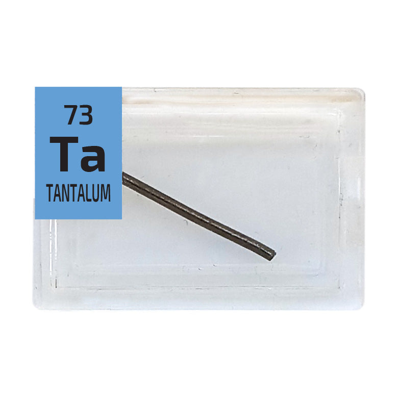 Tantalum Wire Periodic Element Tile - Small - The Periodic Element Guys