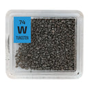 Tungsten Grains Periodic Element Tile - The Periodic Element Guys