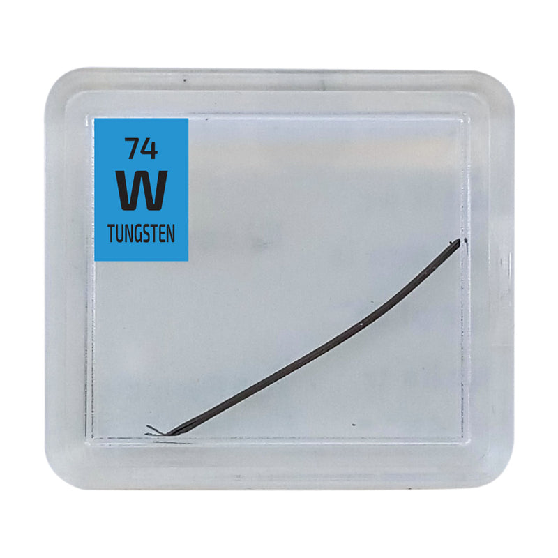Tungsten Wire Periodic Element Tile - The Periodic Element Guys
