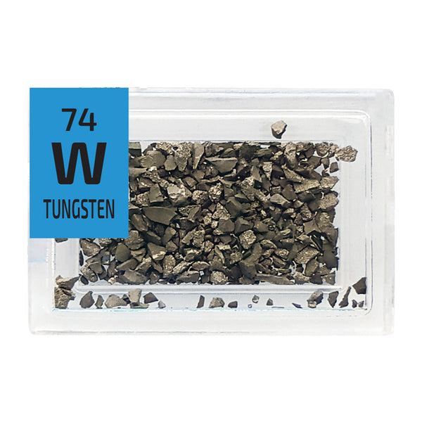 Tungsten Grains Periodic Element Tile - Small - The Periodic Element Guys