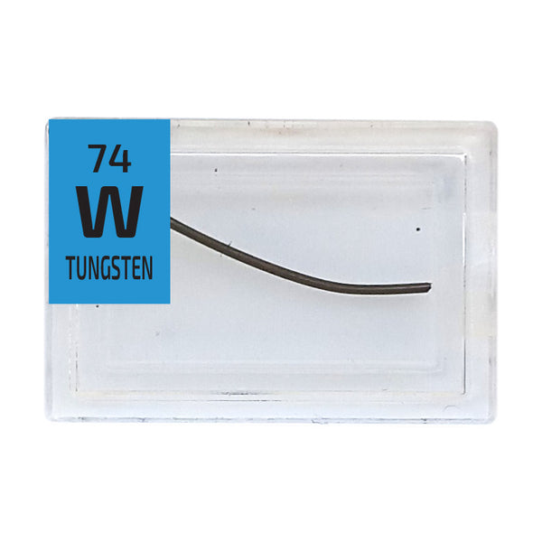 Tungsten Wire Periodic Element Tile - Small - The Periodic Element Guys