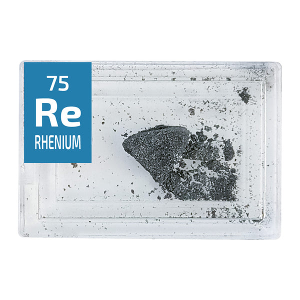 Rhenium Pieces Periodic Element Tile - Small - The Periodic Element Guys
