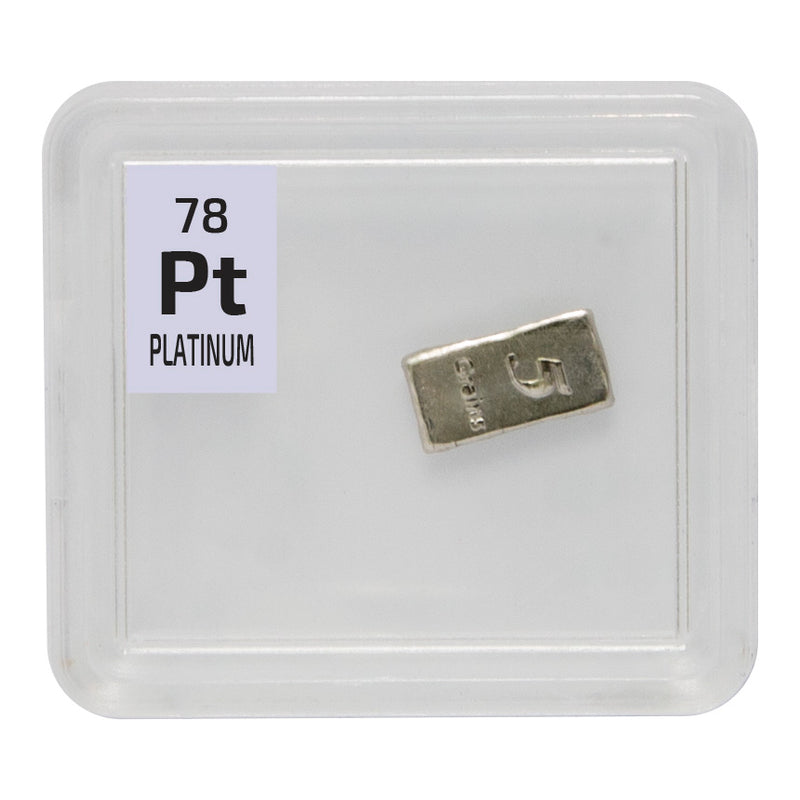 Platinum Ingot Periodic Element Tile - The Periodic Element Guys