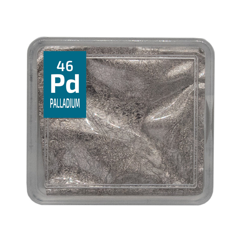 Palladium Foil Periodic Element Tile - The Periodic Element Guys