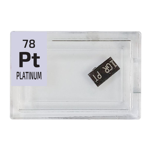 Platinum 1 Grain Ingot Periodic Element Tile - The Periodic Element Guys
