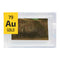 Gold Foil Periodic Element Tile - 23.7k Au Gold .971 NASA Surplus heat resistant tape - The Periodic Element Guys