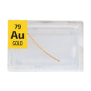 Gold Wire Periodic Element Tile - Small - The Periodic Element Guys
