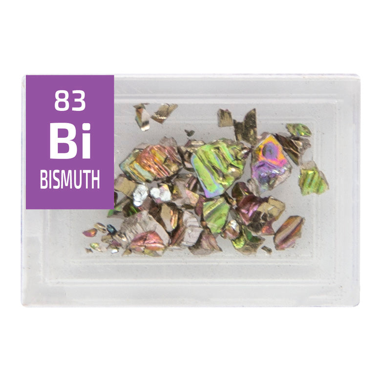 Bismuth Crystals Periodic Element Tile - Small - The Periodic Element Guys