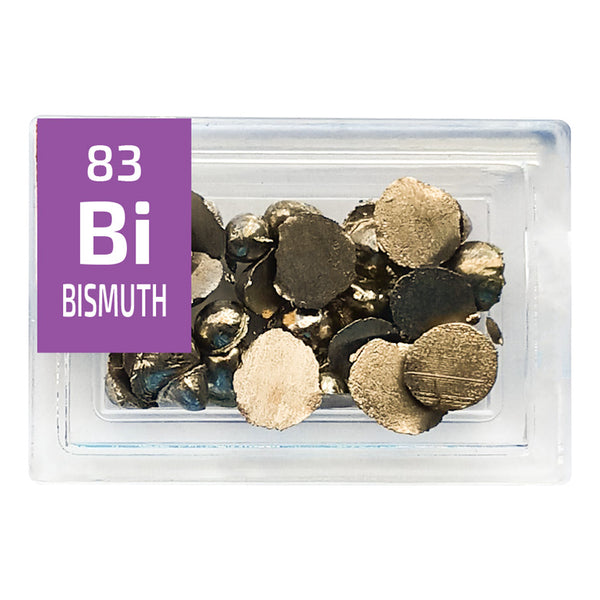 Bismuth Grains Periodic Element Tile - Small - The Periodic Element Guys