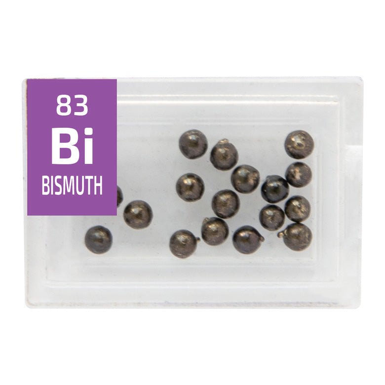 Bismuth Pellets Periodic Element Tile - Small - The Periodic Element Guys