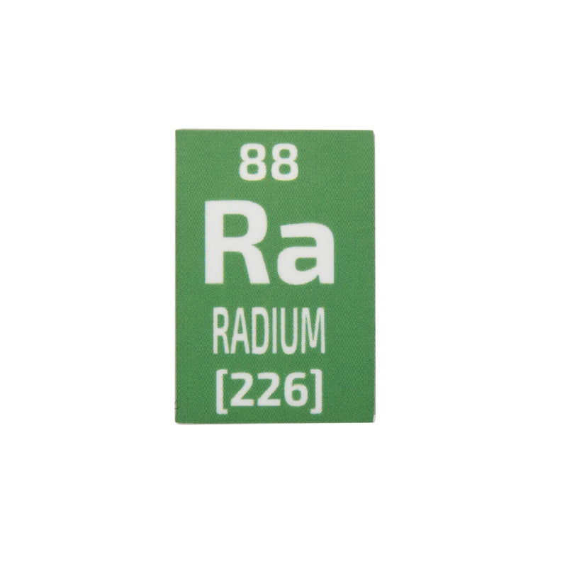 Radium Watch Hands Periodic Element Tile - Small - The Periodic Element Guys