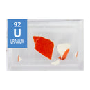Uranium Glazed Pottery Periodic Element Tile - Small - The Periodic Element Guys