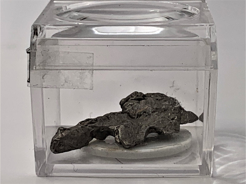 Meteorites Campo Del Cielo in a Magnifier Cube From 0.83 Grams - 3.87 Grams - The Periodic Element Guys