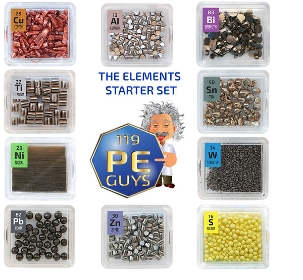 PEGUYS Elements Starter Set 10 - The Periodic Element Guys