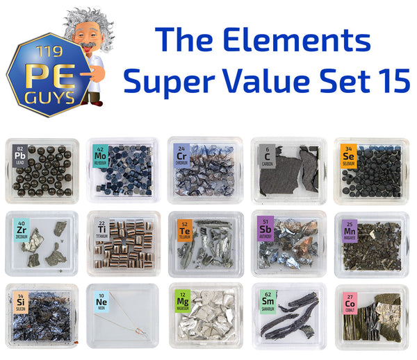 The Elements Super Value Set - The Periodic Element Guys