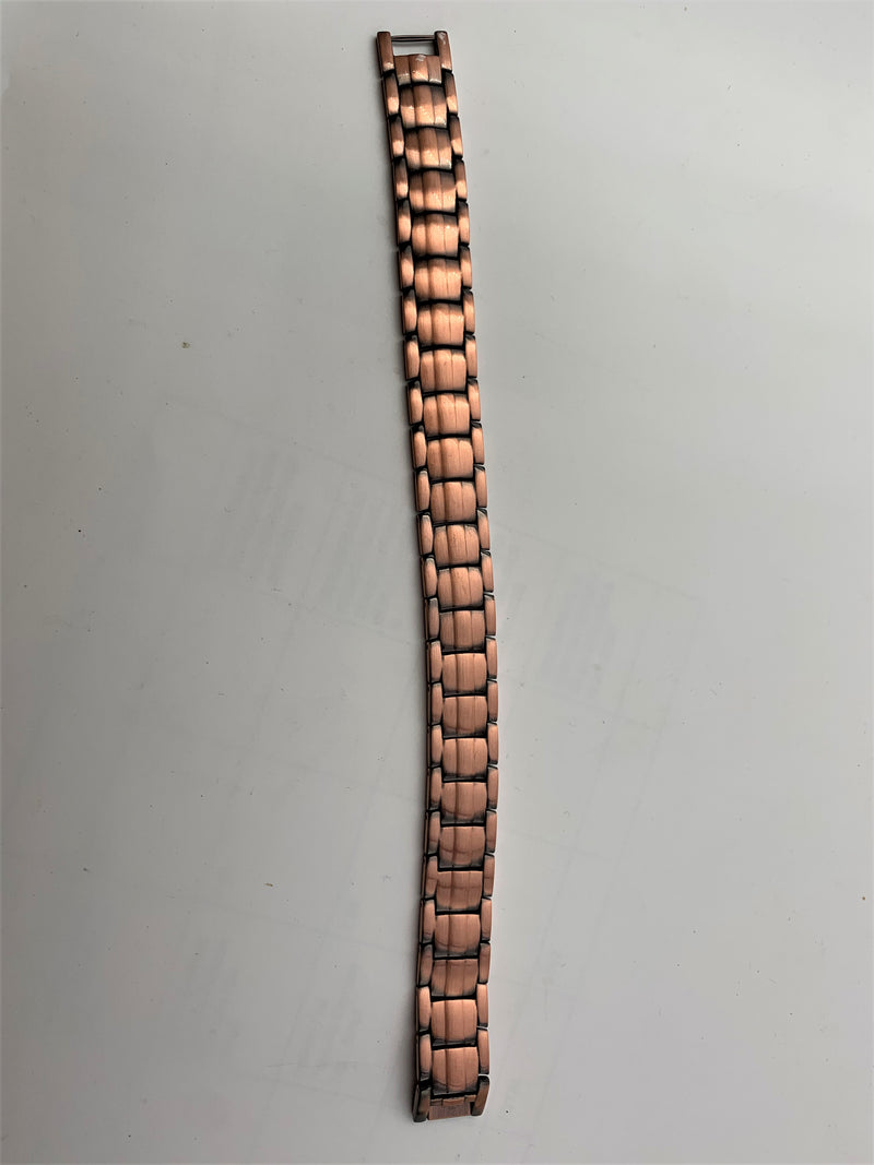 Pure Copper men's Health Bracelet with Germanium disks and high strength Magnets - The Periodic Element Guys