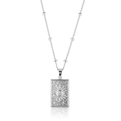 RADIANCE NECKLACE | SILVER (4740827643970)