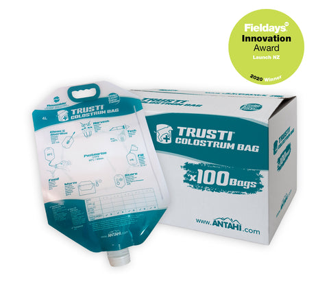 Colostrum Bags x 100 - reusable NEW