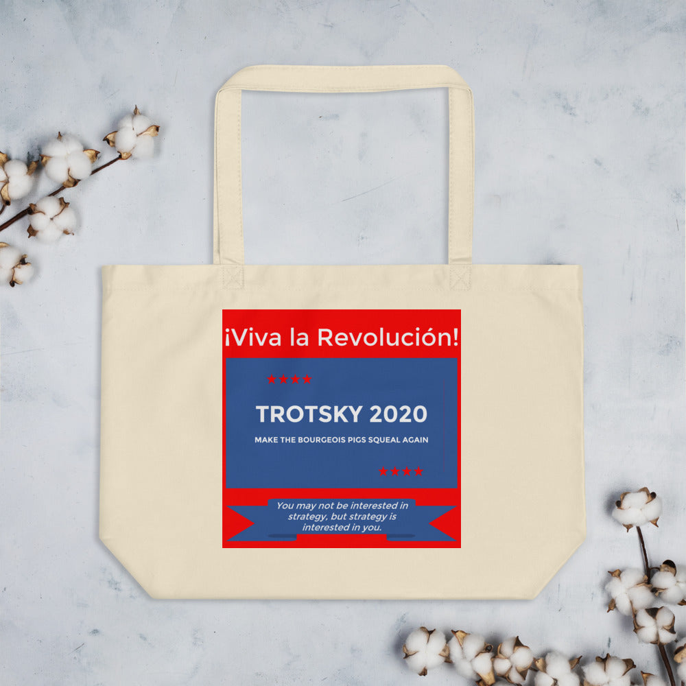 LARGE ORGANIC TROTSKY BAG